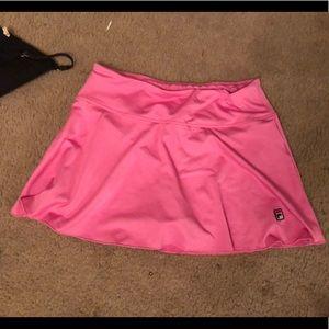 Fila Perfect Pink Athletic Skort Size S *EUC*